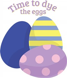 Dye The Eggs print art