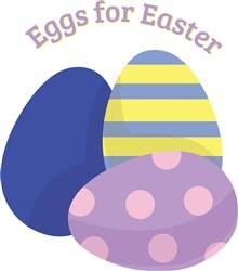 Eggs For Easter print art