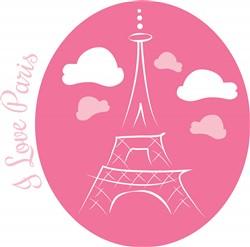 I Love Paris print art