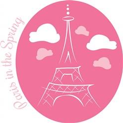 Paris In Spring print art