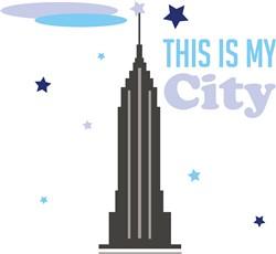 My City print art