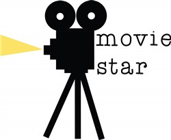 Movie Star print art