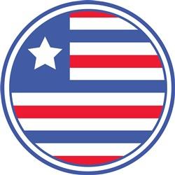 USA Flag print art