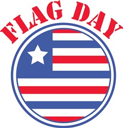 Flag Day print art