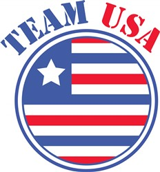 Team USA print art