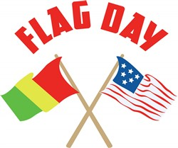 Flag Day print art