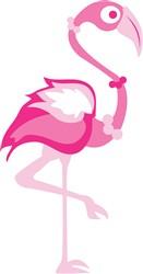 Pink Flamingo print art