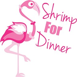 Shrimp For Dinner print art
