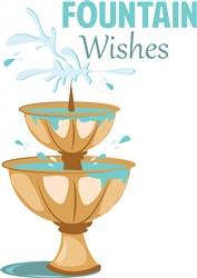 Fountain Wishes print art
