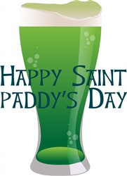 Saint Paddys Day print art