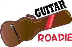 Guitar Roadie print art