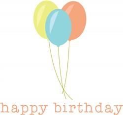 Happy Birthday print art