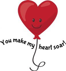 My Heart Soar print art
