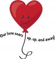 Our Love Soars print art