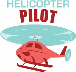Helicopter Pilot print art