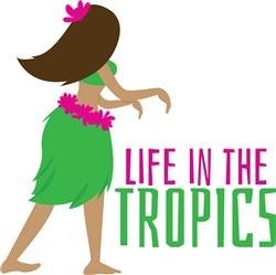 In The Tropics print art