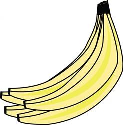 Banana Bunch print art