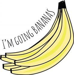 Going Bananas print art
