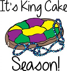 Its King Cake print art
