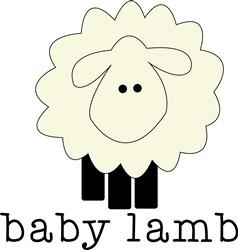 Baby Lamb print art