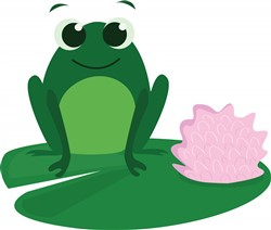 Cute Frog print art