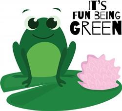 Fun Being Green print art