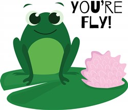 Youre Fly print art