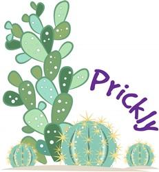 Prickly print art