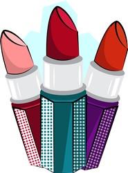 Lipsticks print art