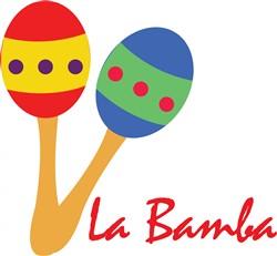 La Bamba Maracas print art