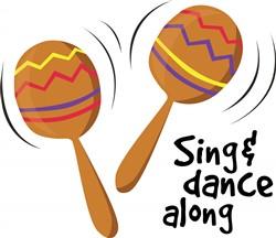 Sing Dance Along print art