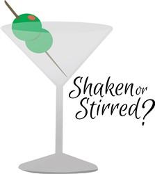 Shaken or Stirred print art