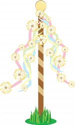 May Pole print art