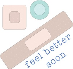Feel Better Soon print art