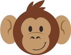 Monkey Head print art