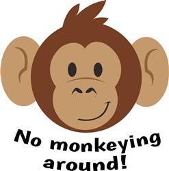 No Monkeying Around print art