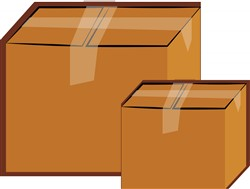 Moving Boxes print art
