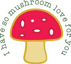 Mushroom Love print art