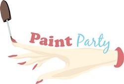 Paint Party print art