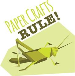 Paper Crafts Rule print art