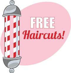 Free Haircuts print art