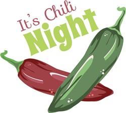 Chili Night print art