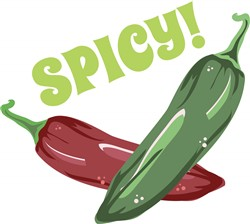 Spicy! Peppers print art
