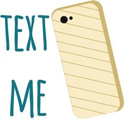 Text Me print art
