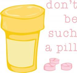 Such a Pill print art