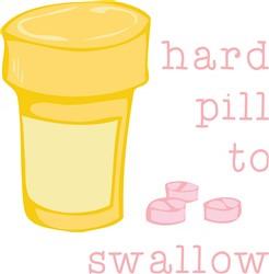 Hard Pill print art