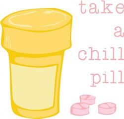 Chill Pill print art