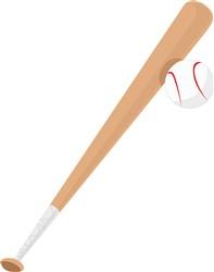 Baseball Bat print art