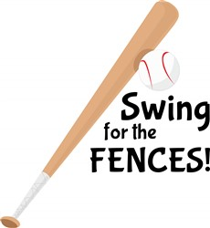 Swing Fence print art