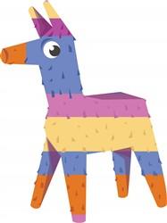 Pinata Donkey print art
